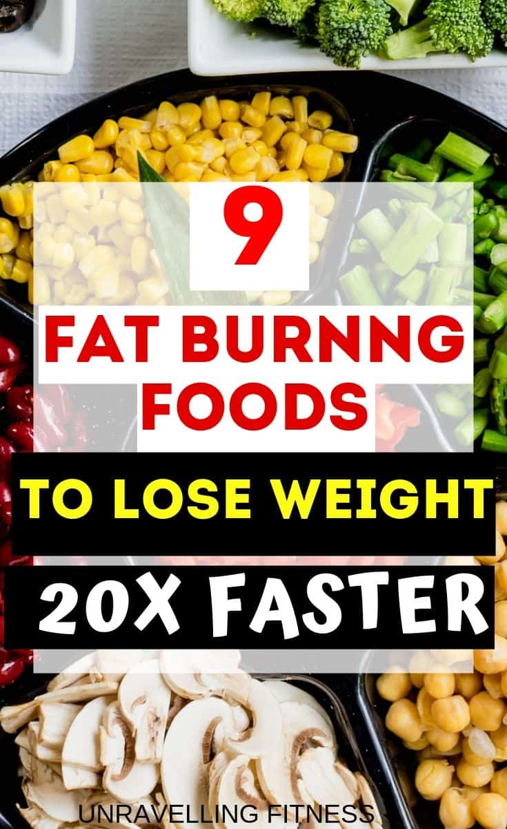 how to lose weight in a week using fat burning foods