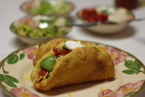 Ketodiet and weight loss friendly Cheesy Taco