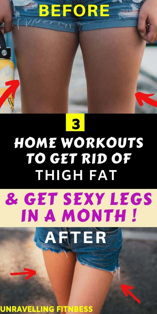 Thigh fat workout
