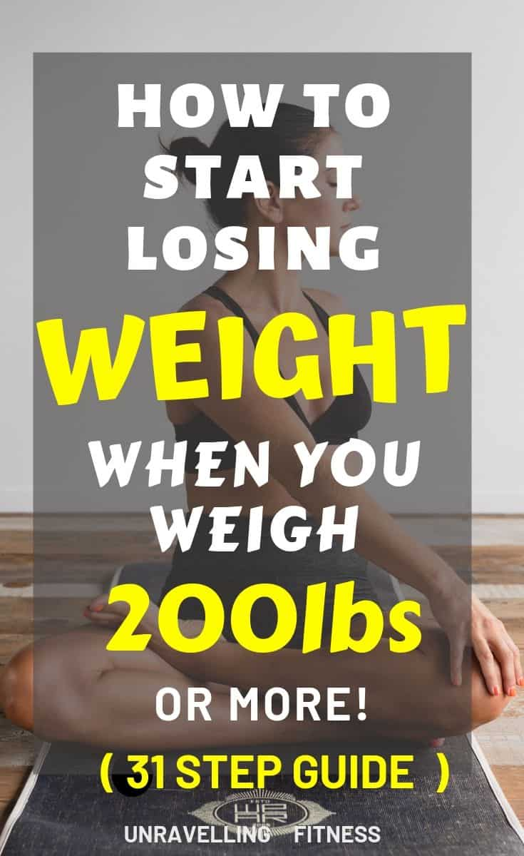 LOse weght when you weigh 200lbs