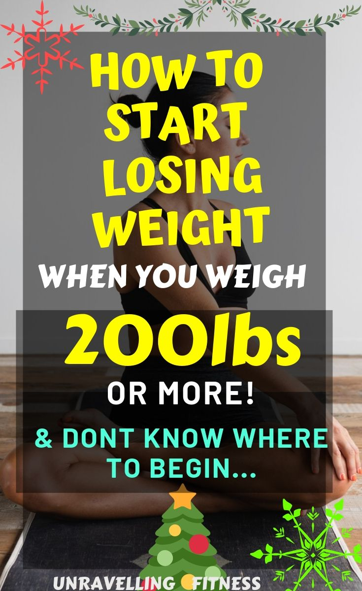 Lose weight fast with this step by step guide even if you weigh 200lbs